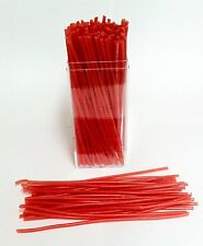 "6 ounces - RED Sprue Wax, 10 gauge - 6"" stick wax -- FREE SHIPPING & DELIVERY"