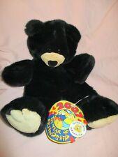 "Build A Bear Black Bear 2007 Year of Friendship Unstuffed 17"" Tall New"