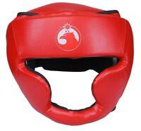 Boxing Headgear head Guard MMA Artificial Leather Kickboxing Training