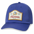 Hamm's Beer Since 1865 Patch Hat Blue