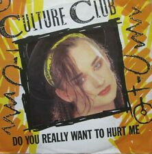 "CULTURE CLUB - DO YOU REALLY WANT TO HURT ME / DUB VERSION  - VINYL 7"" - 45 RPM"