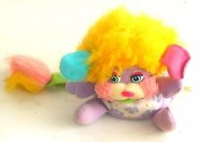 "Vintage década de 1980 Popples ~ DAISY Flower Popple ~ 4"" Juguete de Felpa - (SP12)"
