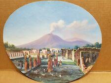 Il Vesuvio a guazzo dal