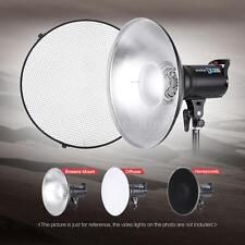 "41CM/16"" Beauty Dish Honeycomb Grid Bowens Mount Reflector for Flash Strobe P7P0"