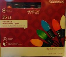 NEW IN THE BOX C9 MULTICOLORED CHRISTMAS LIGHTS HOLIDAY LIVING