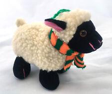 Irish Softies Sheep Lamb 3 Leaf Clover 15cm Plush Stuffed Animal Irish Souvenir