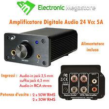 AMPLIFICATORE DIGITALE IN CLASSE T DTA-100a 04200200 100W DAYTON AUDIO