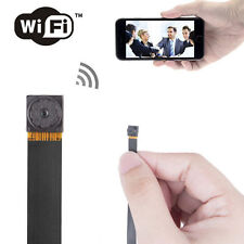 Wireless Mini 1080p Spy Hidden P2P Camera WiFi Remote Monitor Nanny Cam UK