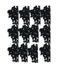 100 Rhinestones  BLACK new lots Arts Crafts TRIANGLES