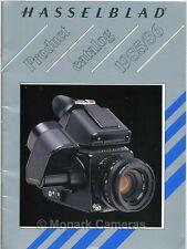 Hasselblad BROCHURE 1985/6 500 C/M ELX EL/M 2000 FCW & CP/M Plus F & CF Lenti