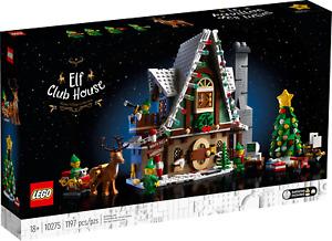 Lego Elf Club House Winter Village Collection 10275 Building Kit 1197 Pcs