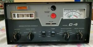 R L Drake C-4 STATION CONSOLE, WITH MANUAL & OUTLET BOX