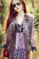 Autumn & Winter fashion fur waistcoat imitation fur vest NEW*