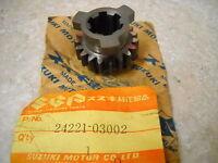 NOS OEM Suzuki 2nd Drive Gear 1974-1977 TM75 TS75 24221-03002