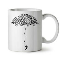 Umbrella Note Music Music NEW White Tea Coffee Mug 11 oz | Wellcoda