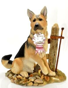 """Country Artists-Top Dogs """"Ranger-German Shepherd by Gatepost* No: 04018-Large"""