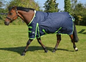 Jump 50g Turnout Rug - Lightweight Rug With 50g Filling - Navy - 5'3 - 7'