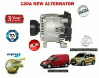 FOR FORD TRANSIT + TOURNEO CONNECT 1.8 DI TDCi TDDI 2002->NEW ALTERNATOR UNIT