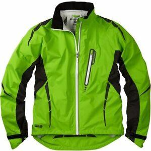 Madison Stellar Mens Waterproof Cycling Jacket. Green.  Stock Clearance. RRP £90