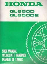 Honda GL650D & GL650D2 1983 Extended Shop Manual