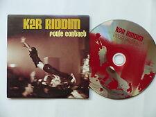 Advance CD Promo KER RIDDIM Foule contact 14 Titres LIve 2004 3596971039158