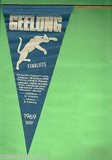 #T47.  1969 GEELONG CATS VFL FINALISTS PENNANT