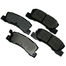 Disc Brake Pad Set-Proact Ultra Premium Ceramic Pads Rear Akebono ACT325