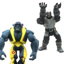 "Lot 2 Marvel Legends 3.75"" Beast Solider Wolverine And The X-Men Action Figures"