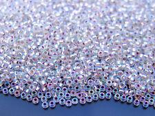 250g 91001 Crystal AB Miyuki Japanese Seed Beads Round Size 11/0 2mm WHOLESALE