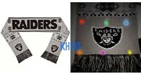 NFL Oakland Raiders Logo Light Up Scarf