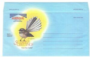 New Zealand unused Season's Greetings AIR MAIL letter
