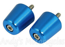 Blue Cosmetic Handlebar Ends Bar End for Aprilia RS125 RS50 RS250 RS 125 50 250