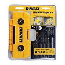 Dewalt DWMTC15 15Pc Screwdriver Set W/Magnetic Tough Case