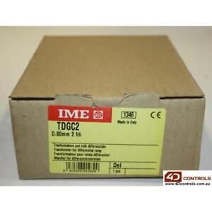 IME TDGC2 ELR TOROID CLOSED CORE 2 WIRE 80MM - min 30mA, Sealed