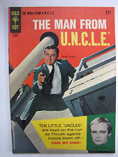 The Man from U.N.C.L.E. #5 (Mar 1966, Gold Key / Western) [FN 6.0]