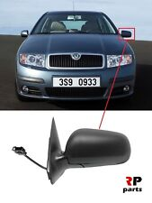 FOR SKODA FABIA 99-07 NEW WING MIRROR ELECTRIC HEATED PRIMED LEFT N/S LHD