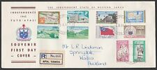 SAMOA 1962 definitive set complete on reg FDC..............................55549