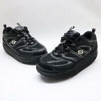 Skechers Shape Ups Womens Black Rocker Toning Walking Sneakers 11817 SIZE 7.5 US
