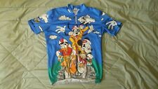 Short Sleeve Cycling Jersey with Disney Graphic-Size XL-Giordana