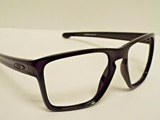 Authentic Oakley XL OO9341-06 Sliver Polished Black Sunglasses Frame $257