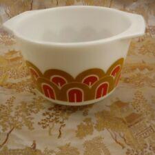 Vintage Pyrex 1.5 Quart Straight Sided Mixer Bowl Arches Designs #343