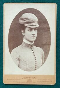 Antique Cabinet Photo Princess Wales Queen Alexandra Wife King Edward VII