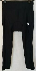 BALEAF Womens Medium Black Padded Cycling Capri EUC