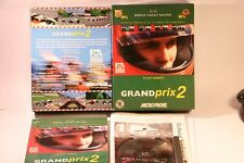 Juego PC GRAND PRIX 2 PC CD-ROM de Windows 95 Ms-dos 5.0 por 1995 Micro Prosa