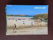 f1j postcard used harlyn bay