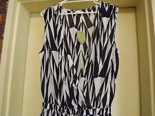 Brand New With Tags Solito Black & White Jumpsuit sz L RRP $110.99