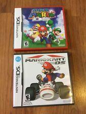 Nintendo DS Super Mario 64 + Mario Kart DS Both Complete