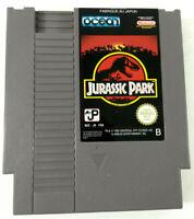 Jeu Nintendo NES en loose  Jurassic Park  NES-J9-FRA (FAH-1)  Envoi rapide suivi