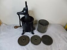 Antique Enterprise 2 Quart Sausage Stuffer Wine Lard Press Cast Iron