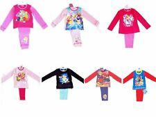 Boys Girls Kids Character Childrens Pyjamas Pyjama Set Pjs Nightwear 1-10 Years